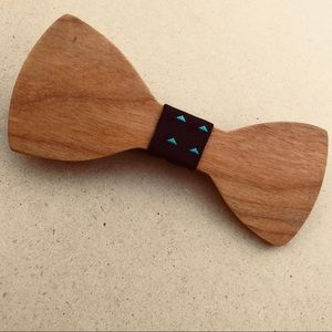 Accessories - Wooden Bow Tie